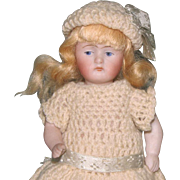 "5"" Kestner '+130 / 3' Pretty & All Original All Bisque Doll"
