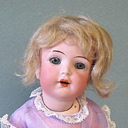 """K*R S&H 126 Toddler 8 1/2"""" and Darling"""