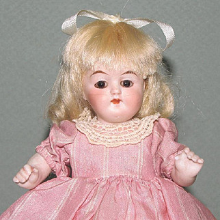 "6 1/4"" KLING '36-15 b.' All Bisque Doll"