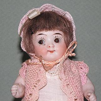 """5 1/2"""" Kestner Googly 217 /14 All Bisque Doll"""