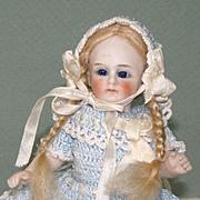 """5 1/2"""" Jullien Jeune All Bisque Doll~ Very Cute!"""