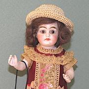 "6 1/4"" Kestner Mignonette High Black Stockings All Bisque Doll"