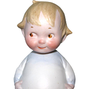 Adorable PETERKINS Googly All Bisque Doll 5 3/4""