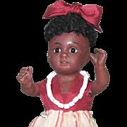 """5 1/2"""" Kestner 164 3/0 Black All Bisque Doll"""