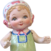 """5"""" of Charm ~ MIJ All Bisque Doll"""