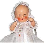 "5 1/4"" Darling Hertwig Baby ~ All Bisque Doll"