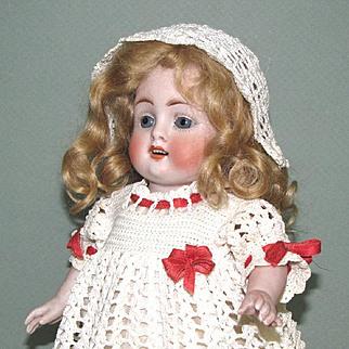 "10"" Kestner 208 / 9 All Bisque Doll ~ BIG & Pretty!"