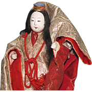 Japanese Noh Dancer Doll ~ from NYC Metropolitan Museum of Art