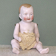 "6"" All Bisque Character Baby Marked ""74 / 5"""
