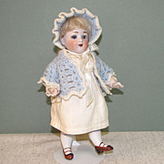 "Darling 7 3/4"" Kestner Character All Bisque Doll ""150/9"""