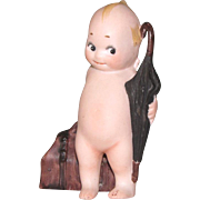 "3 3/8"" Kewpie ""Traveler"" ~ All Bisque Doll"