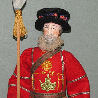 "10"" Beefeater MINT Liberty of London Doll"