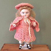 "6"" Charming ABG Wrestler ~ All Original All Bisque Doll!"