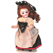 """3 1/2"""" Kling '31' BEAUTY!  All Bisque Doll"""