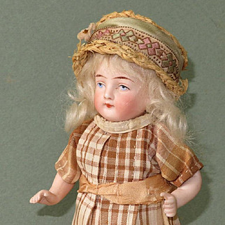 """6"""" All Bisque Kling Doll ~ Nice Quality!"""