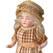 "6"" All Bisque Kling Doll ~ Nice Quality!"