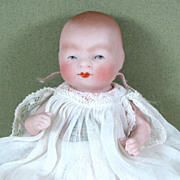 """4"""" All BIsque BYE-LO Baby ~ All Original with Label!  SWEET!"""