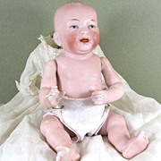 """8"""" KESTNER All Bisque Baby Doll ~ Gorgeous Original Clothing!"""