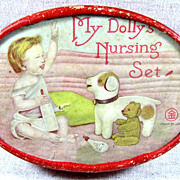 My Dolly's Nursing Set ~ With really cute TEDDY BEAR!