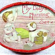 My Dolly's Nursing Set ~ With really cute TEDDY BEAR!
