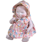 """Wonderful 8"""" All Bisque Bye-Lo Baby ~ Super Clothes Too!"""