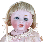 "Adorable 8"" Kestner All Bisque Baby ~ Sleep Eyes & Swivel Neck ~ NICE!"