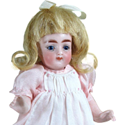 "Lovely 6"" Kling All Bisque Doll in Excellent Condition"