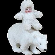 "Hertwig Snow Baby & Snow Bear ~ 1 1/4"" & 2 1/4"""