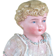 """5 1/4"""" Early Kling Child ~Sweet Antique All Bisque Doll"""
