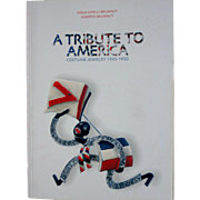 Book A TRIBUTE TO AMERICA Costume Jewelry 1935 - 1950 Italian Edition Carla & Roberto Brunialti