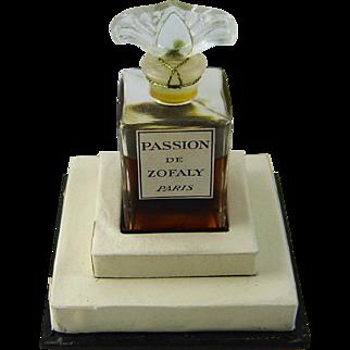 Vintage Passion de Zofaly Perfume Paris 1946 Unopened Orig Box