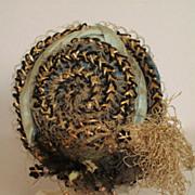 Fabulous Antique Straw Fashion Hat