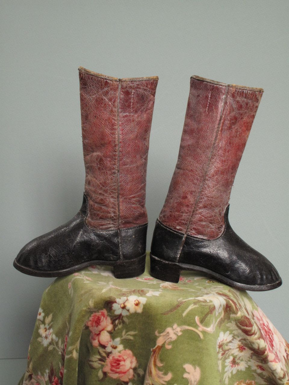 Miniature Folk Art Long Boots
