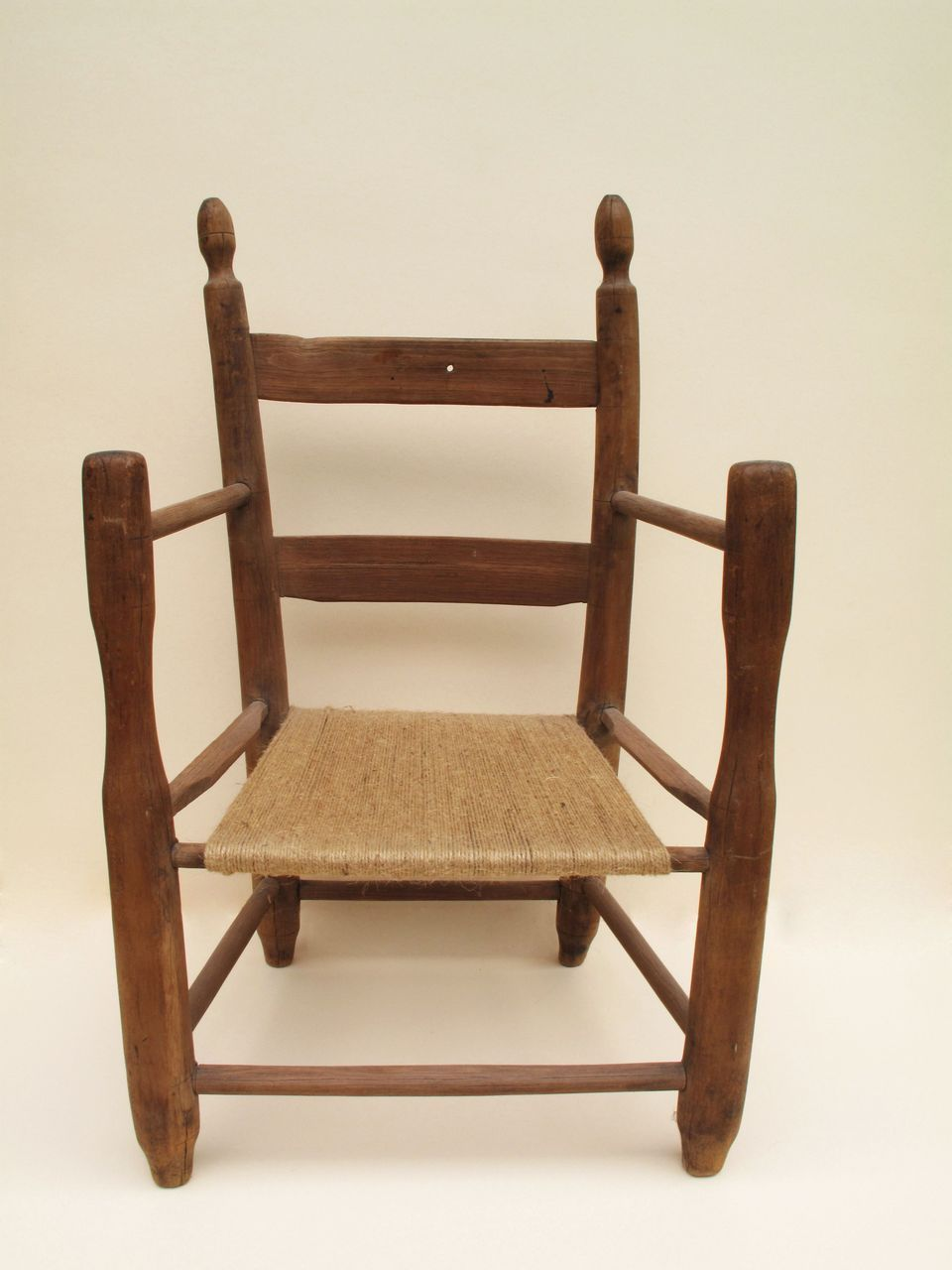 19th Century Child's Chair for Large Cloth Paper Mache or China Doll