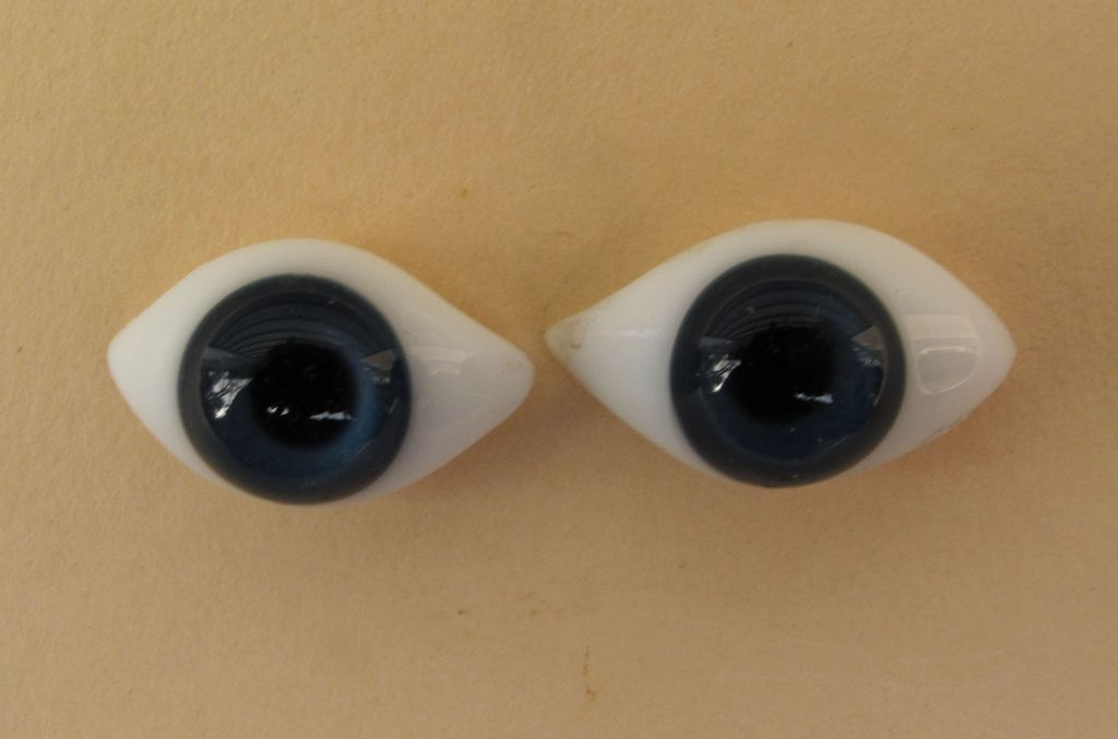 Stunning Antique Royal Blue French Paperweight Eyes