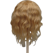 Vintage Honey Blonde Mohair Wig