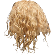 Exceptional Antique blonde Mohair Wig
