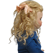 SWEET Antique Blonde Mohair Wig