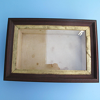 19th Century Unused Shadow Box