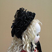 Lovely 19th c. Bonnet for Antique Doll
