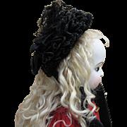 Lovely 19th c. Bonnet for Antique Doll