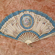 Lovely Antique Paper Fan