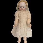 Sweet Antique White Doll Dress