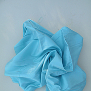 Gorgeous Vintage Silk in Robin's Egg Blue