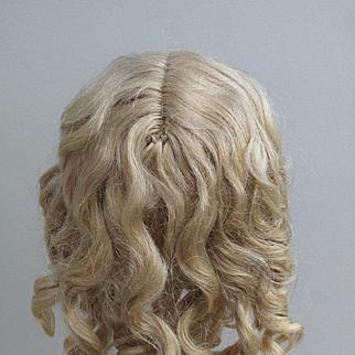 Lovey Antique Dark Blonde Mohair Wig