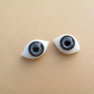 Lovely Antique Blue Paperweight Eyes #1