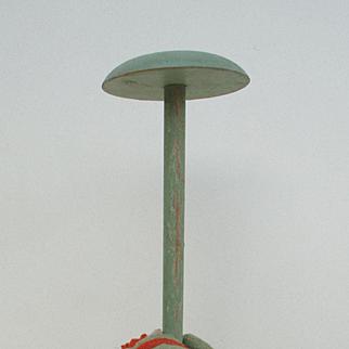 Estate Find Vintage Lenci Type Hat Stand