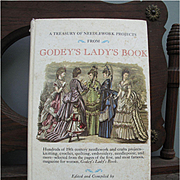 "Estate Find - Vintage "" A Treasury of Needlework from Godey's Lady's Book"""