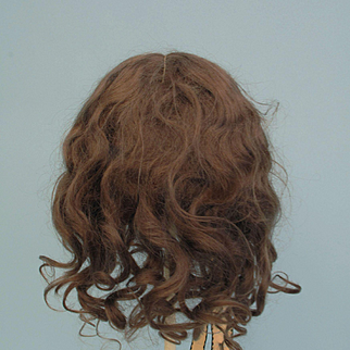 Lovely Soft Brown Mohair Wig