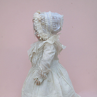 Lovely Antique 6 Piece Ensemble for French or German Bisque Child.